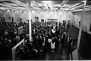 "13/11/1967<br /> 11/13/1967<br /> 13 November 1967<br /> ROSC 1967 ""The Poetry of Vision"" Exhibition  at the R.D.S., Dublin. Image shows a general view of the official opening - The Celtic Art section was to have been in the centre of this main exhibition but was moved to the National Museum."