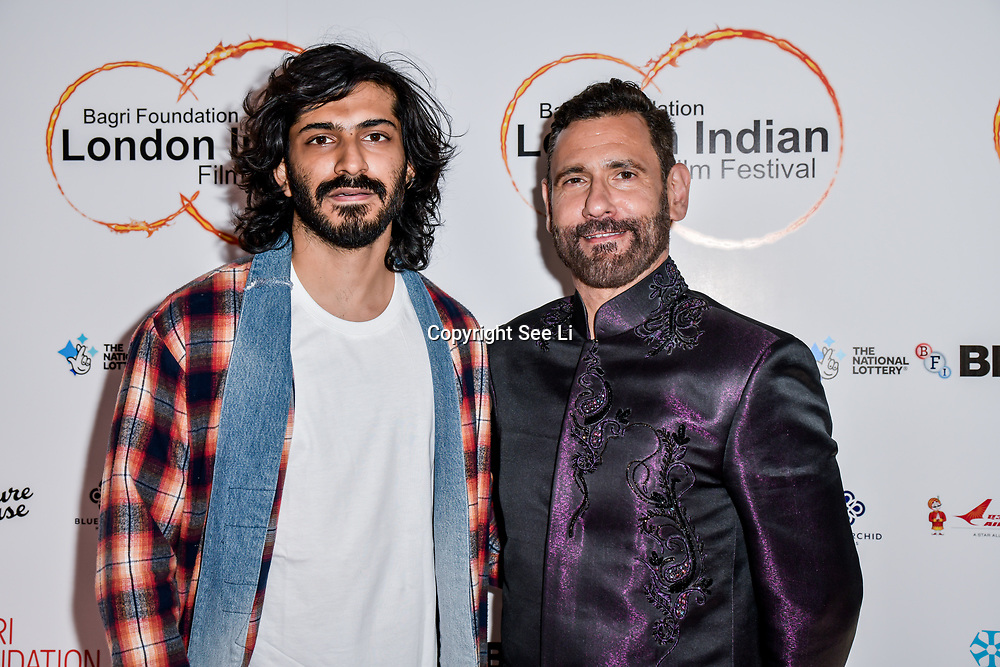 Cary Sawhney, Harshvardhan Kapoor arrives at London Indian Film Festival world premiere of Anubhav Sinha's 'Article 15' at Picturehouse Central, on 20 June 2019, London , UK.