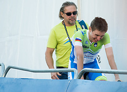 Tadej Pogacar of Slovenia during the Men Under 23 Road Race a 179.9km Race from Kufstein to Innsbruck at 582m at the 91st UCI Road World Championships 2018 / RR / RWC / on September 28, 2018 in Innsbruck, Austria. Photo by Vid Ponikvar / Sportida