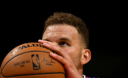 October 21, 2017 - Los Angeles, California, U.S. - Los Angeles Clippers forward Blake Griffin shoots a free-throw against the Phoenix Suns in the second half during an NBA basketball game at the Staples Center on Saturday, Oct 21, 2017 in Los Angeles. .(Photo by Keith Birmingham, Pasadena Star-News/SCNG) (Credit Image: © San Gabriel Valley Tribune via ZUMA Wire)