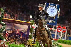 KarelCox (BEL) & Evert - THE LONGINES FEI JUMPING WORLD CUP™ - Olympia, The London International Horse Show - Olympia, London, United Kingdom - 22 December 2018
