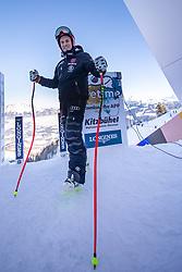 22.01.2019, Streif, Kitzbühel, AUT, FIS Weltcup Ski Alpin, Abfahrt, Herren, 1. Training, im Bild Josef Ferstl (GER) // Josef Ferstl of Germany during the 1st Training of mens downhill of FIS Ski Alpine Worldcup at the Streif in Kitzbühel, Austria on 2019/01/22. EXPA Pictures © 2019, PhotoCredit: EXPA/ Johann Groder