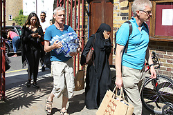Volunteers help bring supplies of clothing and food to the St Micheal of Asissi church community centre in Notting Hill in the aftermath of the Grenfell Tower blaze<br /><br />14 June 2017.<br /><br />Please byline: Vantagenews.com