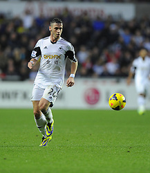 Swansea City's Alvaro Vazquez - Photo mandatory by-line: Joe Meredith/JMP - Tel: Mobile: 07966 386802 27/10/2013 - SPORT - FOOTBALL - Liberty Stadium - Swansea - Swansea City v West Ham United - Barclays Premier League