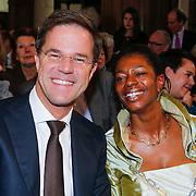 NLD/Naarden/20130329 - Mattheus Passion 2013, Mark Rutte en burgemeester Joyce Sylvester