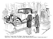 """First Novice. """"Look, Cyril — 'Ex works.' Now what can that be?"""" Second Novice. """"Don't know, I'm sure, my dear, unless (brightly) it means 'without the engine.'"""""""