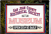 San Juan County Historical Society Museum, Silverton, Colorado USA