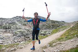 25.07.2015, Rodolfshütte, Uttendorf, AUT, Grossglockner Ultra Trail, 50 km Berglauf, im Bild Martin Gratz (AUT, Kals, 39. Paltz bei Rudolfshütte) // Martin Gratz of Austria during the Grossglockner Ultra Trail 50 km Trail Run from Kals arround the Grossglockner to Kaprun. Uttendorf, Austria on 2015/07/25. EXPA Pictures © 2015, PhotoCredit: EXPA/ Johann Groder