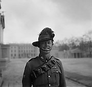 Australian Soldier at Wellington Barracks, London, England, 1937