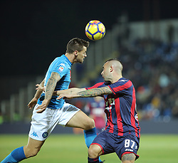 December 29, 2017 - Crotone, KR, Italy - CHRISTIAN MAGGIO of SSC Napoli   during the serie A match between FC Crotone and SSC Napoli at Stadio Comunale Ezio Scida on December 29, 2017 in Crotone, Italy. (Credit Image: © Gabriele Maricchiolo/NurPhoto via ZUMA Press)