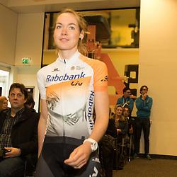 PAPENDAL (NED) wielrennen<br /> Het Rabobank-Liv vrouwenteam en het Developmentteam werden op Papendal voorgesteld.