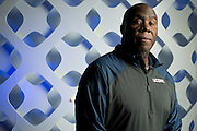 UConn basketball sports psychologist Dr. Joe Carr poses for a portrait at the Hyatt Regency in Dallas, Texas on April 2, 2014. (Cooper Neill / for The New York Times)