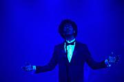 Edison Pop 2017 in de Gashouder, Amsterdam.<br /> <br /> Op de foto:  Optreden Jeangu Macrooy