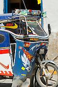 Local transport in Paucartambo, Cusco Region, Peru, South America
