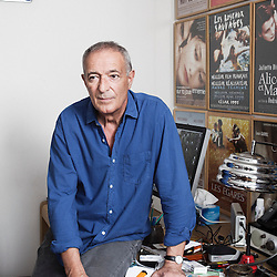 French scriptwriter Gilles Taurand in his writing office in Paris, France. 13 July 2010. Photo: Antoine Doyen