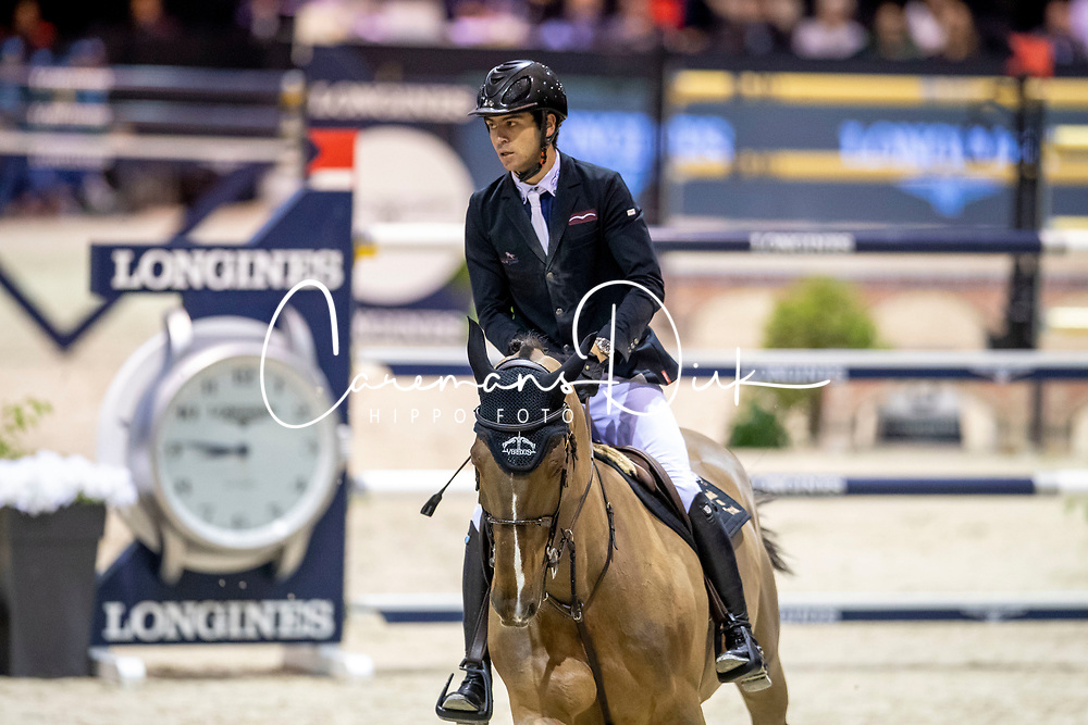 Levy Edward, FRA, Drag Du Buisson Z<br /> Jumping International de Bordeaux 2020<br /> © Hippo Foto - Dirk Caremans<br />  08/02/2020