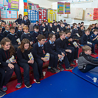 Pupils from Scoil Na Mainistreach Quin enjoy watching movies at their showcase day 'Movie Spectacular' which was held on Wednesday