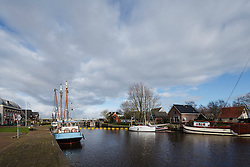 Dokkumer Nieuwe Zijlen, Dongeradeel, Fryslân, Netherlands