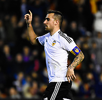 Valencia CF's   Paco Alcacer  during spanish King's Cup match. January 21, 2016. (ALTERPHOTOS/Javier Comos)