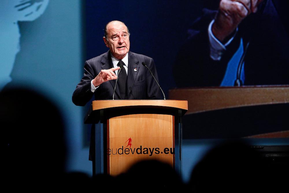 20101207 - Brussels , Belgium - European Development Days - Special Address H.E. Jacques Chirac , France former president © European Union