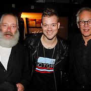 NLD/Amsterdam/20120918 - Cd Box presentatie Doe Maar , Joost Belinfante, Gers Pardoel en ?..