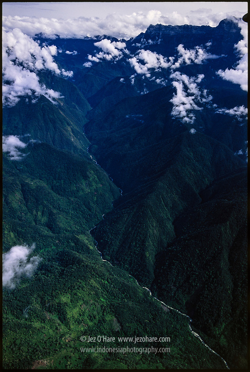 SE central highlands of Indonesian Papua