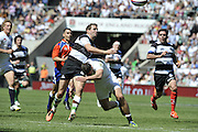 "Twickenham; GREAT BRITAIN;  Baa Baa's. Nick EVANS during the  England vs Barbarians [Baa Baa's],  at Twickenham Stadium; Surrey on, Sunday  26/05/2013   [Mandatory Credit; ""Photo, Peter Spurrier/Intersport-images]"
