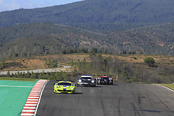 October 28, 2018 - Portimao, PORTUGAL - 83 KROHN RACING (USA) FERRARI F488 GTE GTE TRACY KROHN (USA) NICLAS JONSSON (SWE) ANDREA BERTOLINI  (Credit Image: © Panoramic via ZUMA Press)
