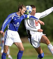Fotball 2. divisjon 27.08.05 - Ranheim - Mo 4-2<br /> Kristian Juberg Ranheim, Torstein Vassdal, Mo<br /> Foto: Carl-Erik Eriksson, Digitalsport