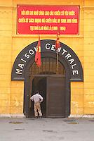 Vietnam. Hanoi. Prison Hoa Lo, le Hilton des pilotye américain. // Vietnam. Hanoi. Hoa Lo jail or the Hilton for the american pilots.