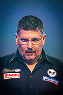 Gary Anderson (Scotland) showing his frustration during the William Hill World Darts Championship at Alexandra Palace, London, United Kingdom on 28 December 2020.