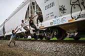 EXCLUSIVE - illegal migrants Train Central America