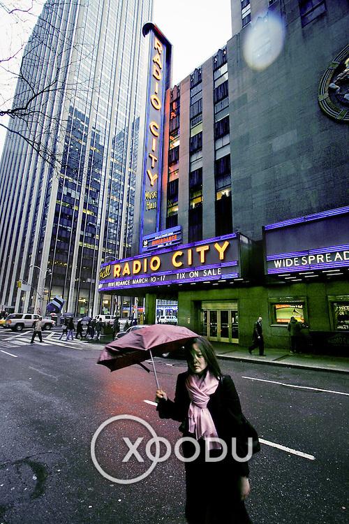 Radio City, New York, United States (March 2005)