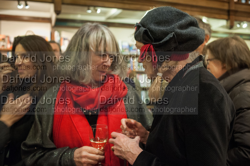 CAROLINE GARLAND; MARTHA PAPADAKIS, William Fitzgerald, Book launch ,  'How to read a Latin poem - if you can't read Latin yet' published by OUP.- Daunts bookshop Marylebone, London 21 February 2013.