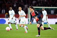 FOOTBALL - FRENCH CHAMPIONSHIP 2011/2012 - L1 - PARIS SAINT GERMAIN v OLYMPIQUE MARSEILLE - 8/04/2012 - PHOTO JEAN MARIE HERVIO / REGAMEDIA / DPPI - MAXWELL (PSG)