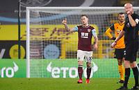 Football - 2020 / 2021 Premier League - Burnley vs Wolverhampton Wanderers - Turf Moor<br /> <br /> Ashley Barnes of Burnley celebrates scoring at Turf Moor <br /> <br /> <br /> COLORSPORT/LYNNE CAMERON