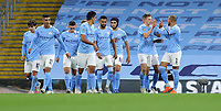 Football - 2020 / 2021 EFL Carabao Cup - Round Three - Manchester City vs AFC Bournemouth<br /> <br /> Liam Delap of Manchester City celebrates at the Etihad Stadium.<br /> <br /> COLORSPORT/LYNNE CAMERON