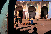 The marketplace in the ancient walled city of Harar,  Situated in Eastern Ethiopia it is considered to be the fourth  holiest city in Islam with 82 mosques. It is a major commercial centre linked by trade routes with the rest of Ethiopia and the entire Horn of Africa.  Ethiopia