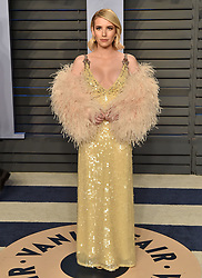 2018 Vanity Fair Oscar Party. Wallis Annenberg Center for the Performing Arts, Beverly Hills, CA. Pictured: Eve Hewson. EVENT March 4, 2018. 04 Mar 2018 Pictured: Emma Roberts. Photo credit: AXELLE/BAUER-GRIFFIN/MEGA TheMegaAgency.com +1 888 505 6342