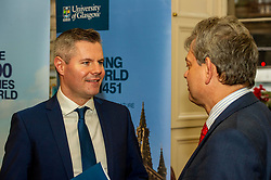 Pictured: Professor Sir Anton Muscatelli and Finance Secretary Derek Mackay<br />