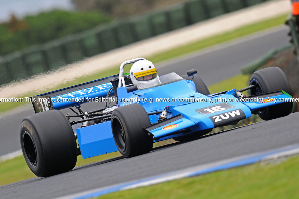 Chris Hocking - Matich A52 - F5000.Historic Motorsport Racing - Phillip Island Classic.18th March 2011.Phillip Island Racetrack, Phillip Island, Victoria.(C) Joel Strickland Photographics.Use information: This image is intended for Editorial use only (e.g. news or commentary, print or electronic). Any commercial or promotional use requires additional clearance.