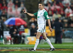 Referee Jerome Garces during the second test of the 2017 British and Irish Lions tour at Westpac Stadium, Wellington.