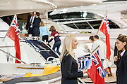 The Princess Stand attracts people of all ages. The London Boat Show opens at the Excel Centre, Docklands, London, UK 04 January 2014. Guy Bell, 07771 786236, guy@gbphotos.com