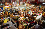 16 JANUARY 2002, GUANAJUATO, GUANAJUATO, MEXICO:  Overview of the interior of Mercado Hidalgo, opened in 1910, in the city of Gunajuato, state of Guanajuato, Mexico, Jan. 16, 2002. Mercado Hidalgo is the main market for Guanajuato..PHOTO BY JACK KURTZ