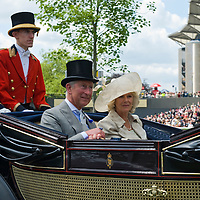 Ascot June 16th HRH Prince of Wales and HRH The Duchess of Cornwall arrive at the first day of Royal Ascot....***Standard Licence  Fee's Apply To All Image Use***.Marco Secchi /Xianpix. tel +44 (0) 845 050 6211. e-mail ms@msecchi.com or sales@xianpix.com.www.marcosecchi.com