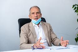 ANDREA GARAU PROCURATORE CAPO<br /> CONFERENZA STAMPA PROCURA FERRARA PROBLEMA PERSONALE SCARSO
