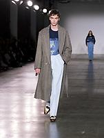 E.Tautz, Catwalk show at London Fashion Week Men's, Truman Brewery Brick Lane London. 04.01.20