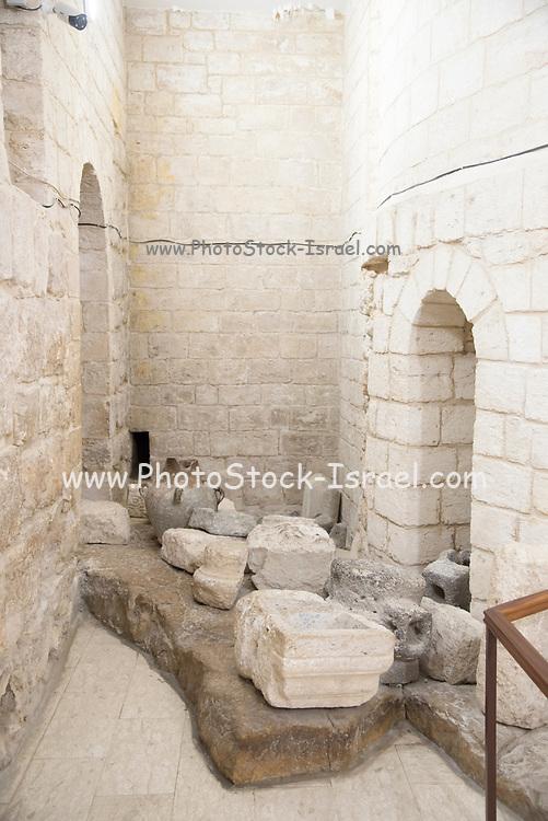 Israel, Kafr Kanna in the Lower Galilee The <br /> Catholic Wedding church