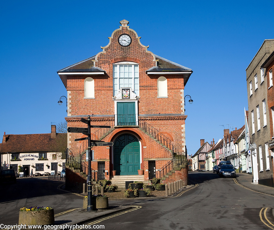 The Shire hall, Woodbridge, Sufolk, England