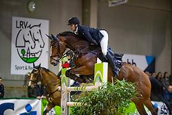 Bossaerts Nick, BEL, Z Golden Girl Hero Z<br /> Klasse Zwaar<br /> Nationaal Indoor Kampioenschap Pony's LRV <br /> Oud Heverlee 2019<br /> © Hippo Foto - Dirk Caremans<br /> 09/03/2019